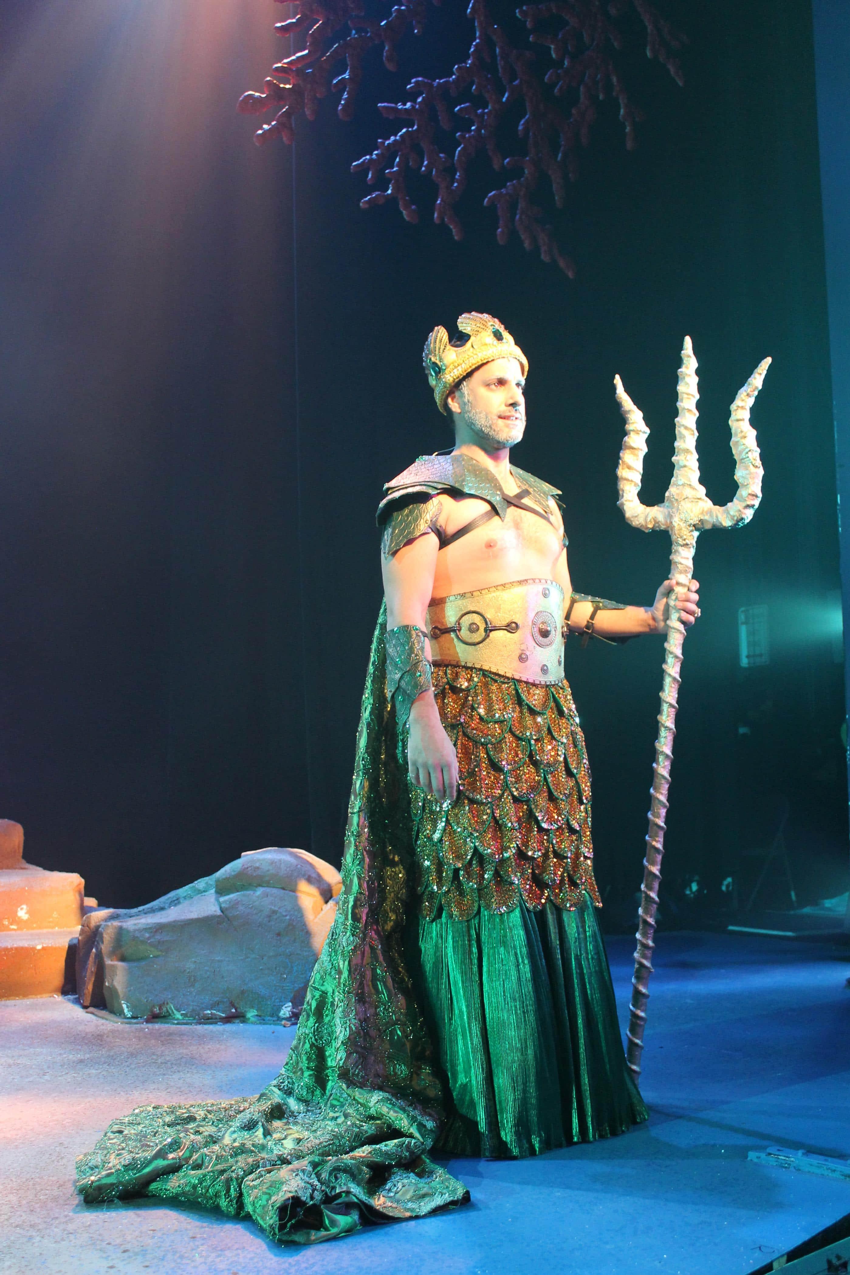 King Triton 2 Maine State Music Theatre Costume